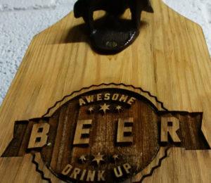 engraved beer openers