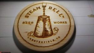 engraved beer signs
